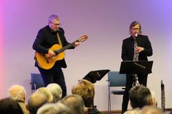 Ivo Truhlar, Gitarre, Roland Pichler, Klarinette