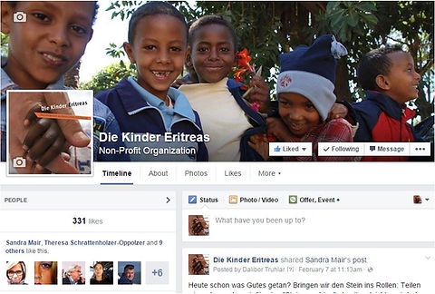 Kinder Eritreas