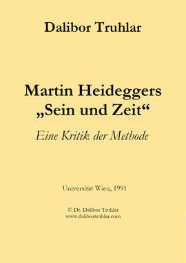 """Martin Heideggers """"Sein und Zeit"""""""