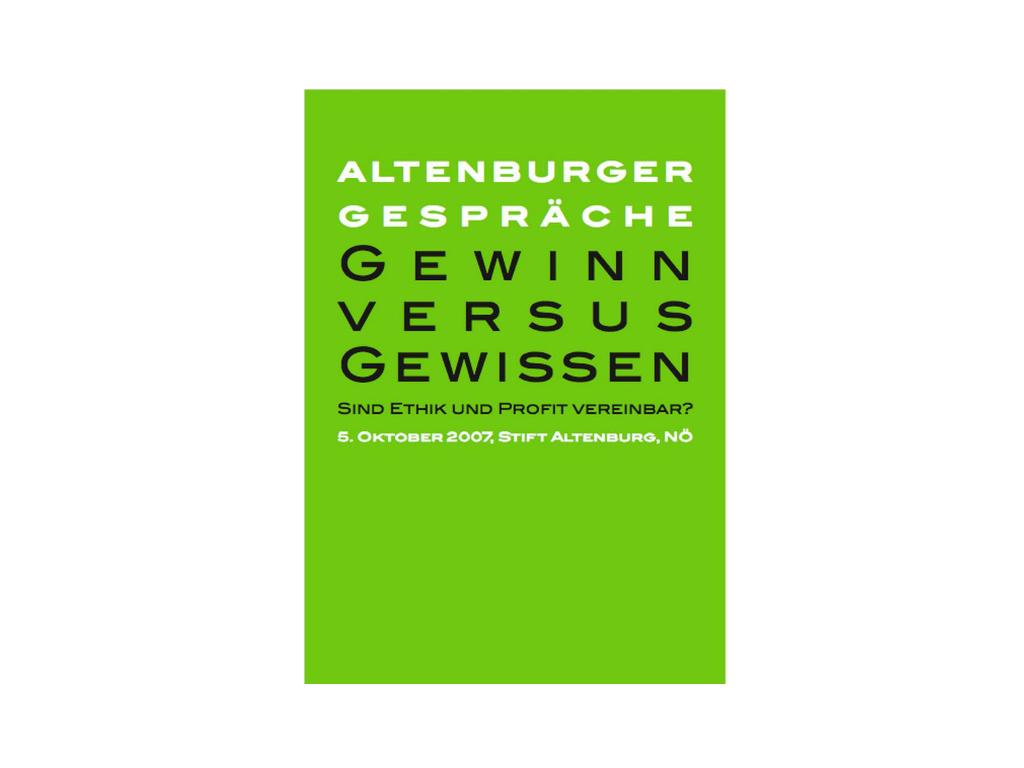 Altenburger Gespräche