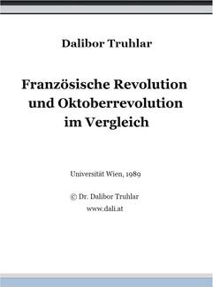 Französische Revolution und Oktoberrevolution im Vergleich