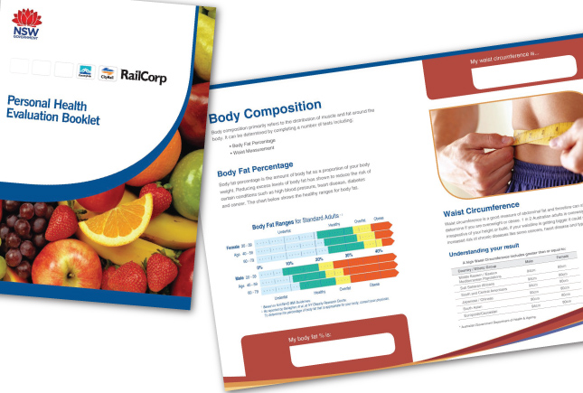 Railcorp health brochure