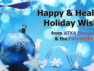 Seasons Greetings from ATXA