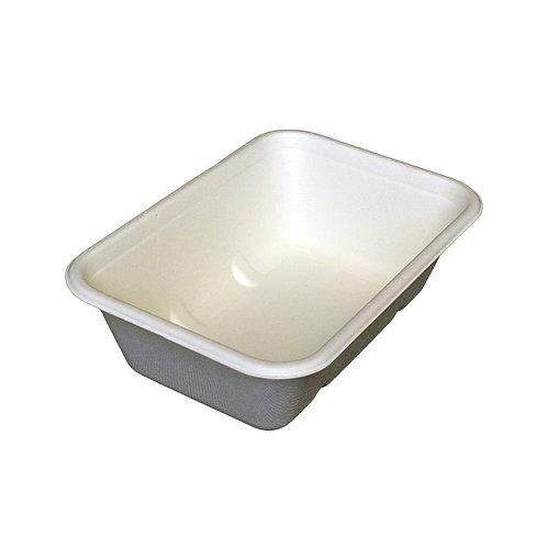 650ml rectangular bagasse container