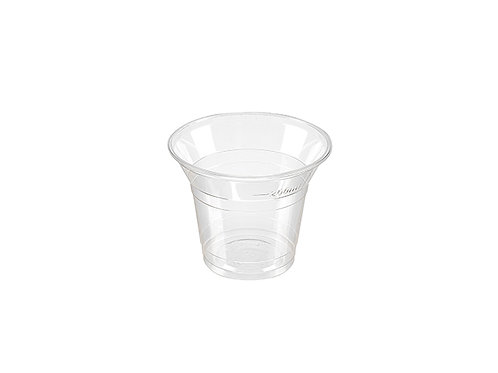 Clear 9oz Squat Small PLA Compostable Cold Drink Cup