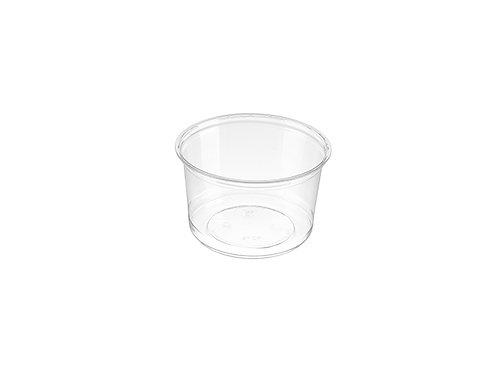 16oz Clear PET Deli Alur Container Case of 500