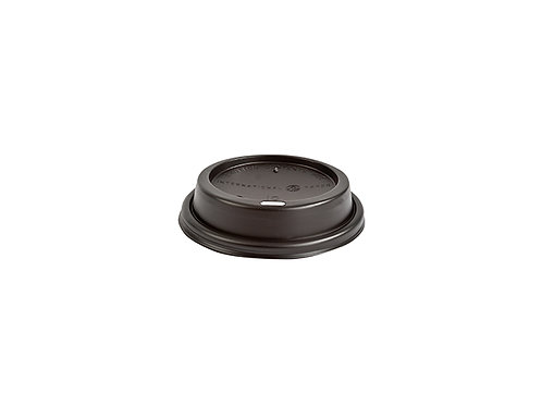 Black PS Sipper Dome Lid for 10oz Cup