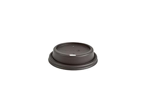 Black plastic lid for 8oz paper cups