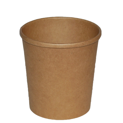 16oz large kraft paper food container