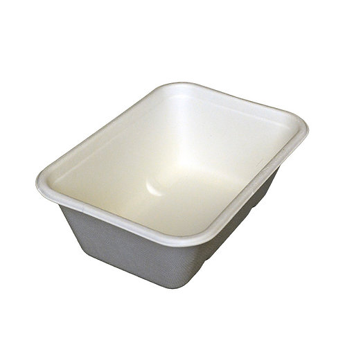 750ml rectangular bagasse container