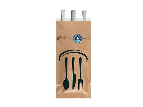 Cutlery Bag - Kraft, 2,000 per case