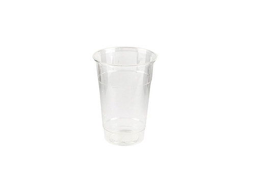 Clear 9oz Tall PLA Compostable Cold Drink Cup