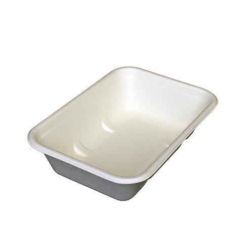 550ml rectangular bagasse food container
