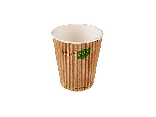 I am Eco 12oz Ripple Cup