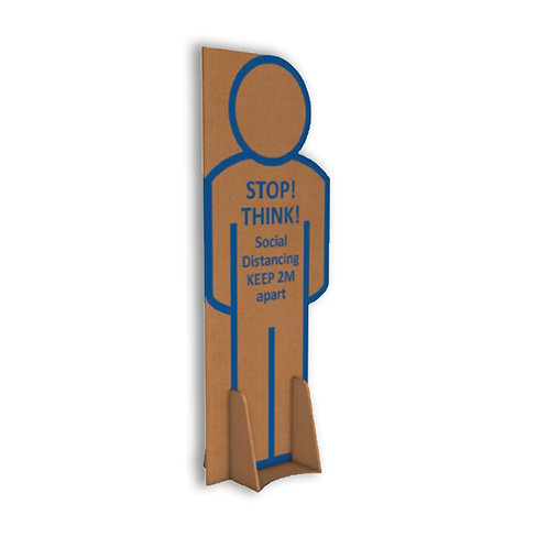 1.8m Tall Social Distancing Standee