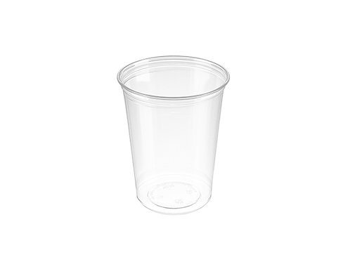 32oz Clear PET Deli Alur Container Case of 500