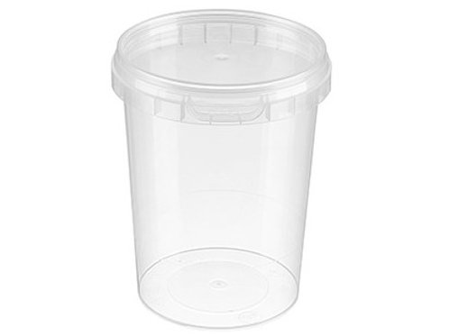 520ml Round Container and Lid Case of 380