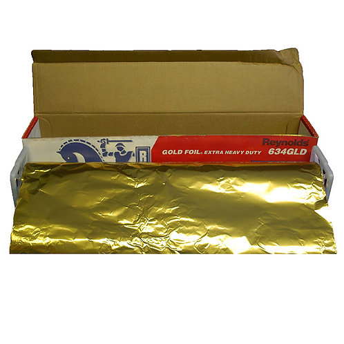 Extra Heavy Duty Gold Catering Foil