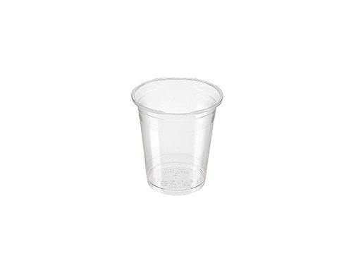 Clear 7oz PLA cold drink cup compostable