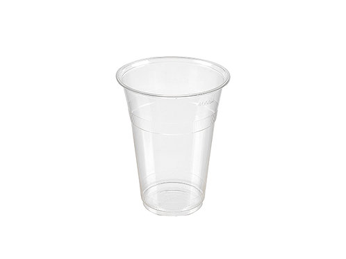 Clear 16oz PLA Compostable Cold Drink Cup