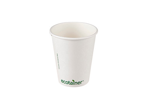 12oz compostable ecotainer paper cups