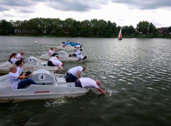 8. Tretbootrennen für die Kinderkrebshilfe Münster