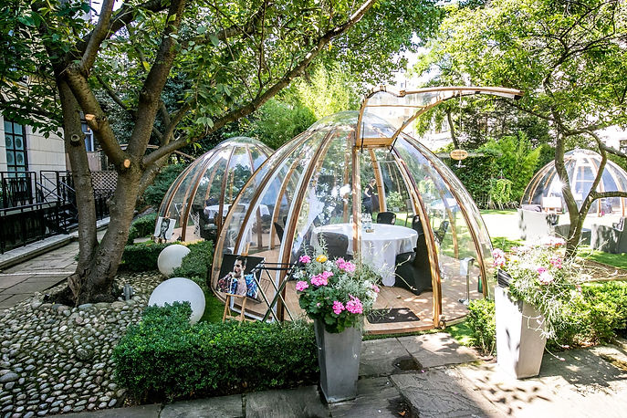 Kreate Spaces Dome Dining Hire Secret Garden 01.jpg