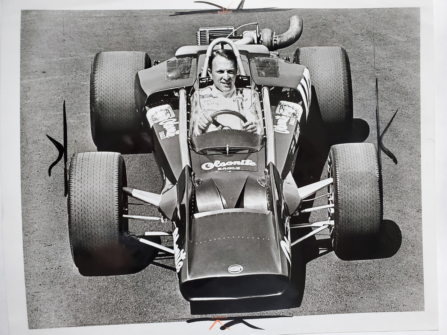 Dan Gurney May 1970  Olsonite Eagle-Offy