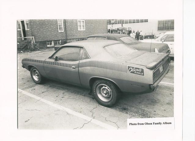 5 Vintage Photo Olsonite AAR After Fire.
