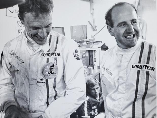 Dan Gurney, Swede Savage & Denny Hulme.j