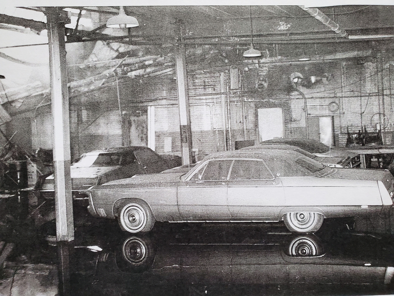 2 Vintage Photo Corporate Garage Collaps