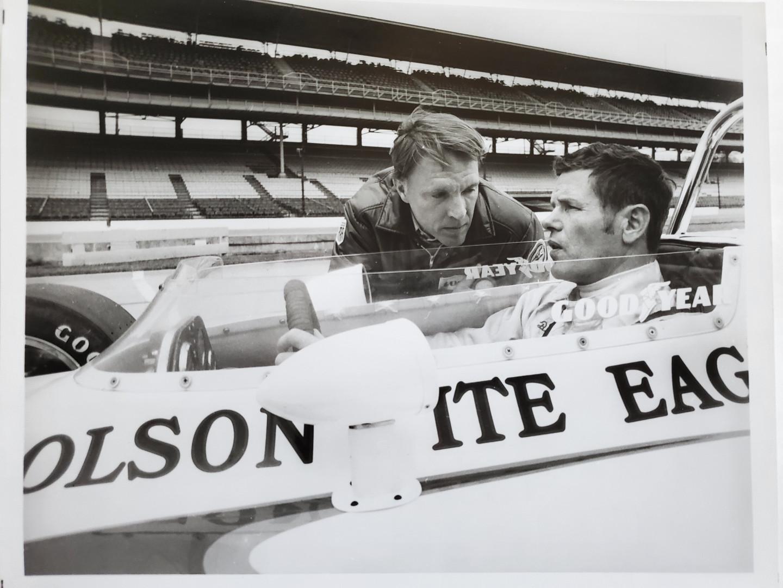 Bobby Unser & Dan Gurney - Practice Runs