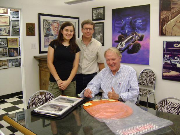 3 Dan Gurney Signing Olson Air Cleaner.j
