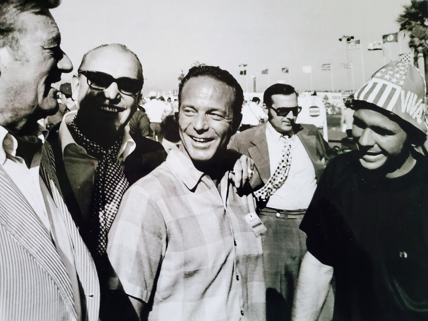 John Wayne, Ozzie Olson, Scott Carpenter