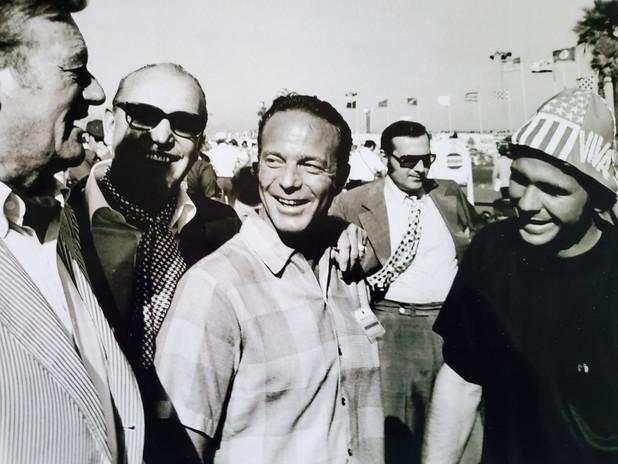 John Wayne, Ozzie Olson, Scott Carpenter
