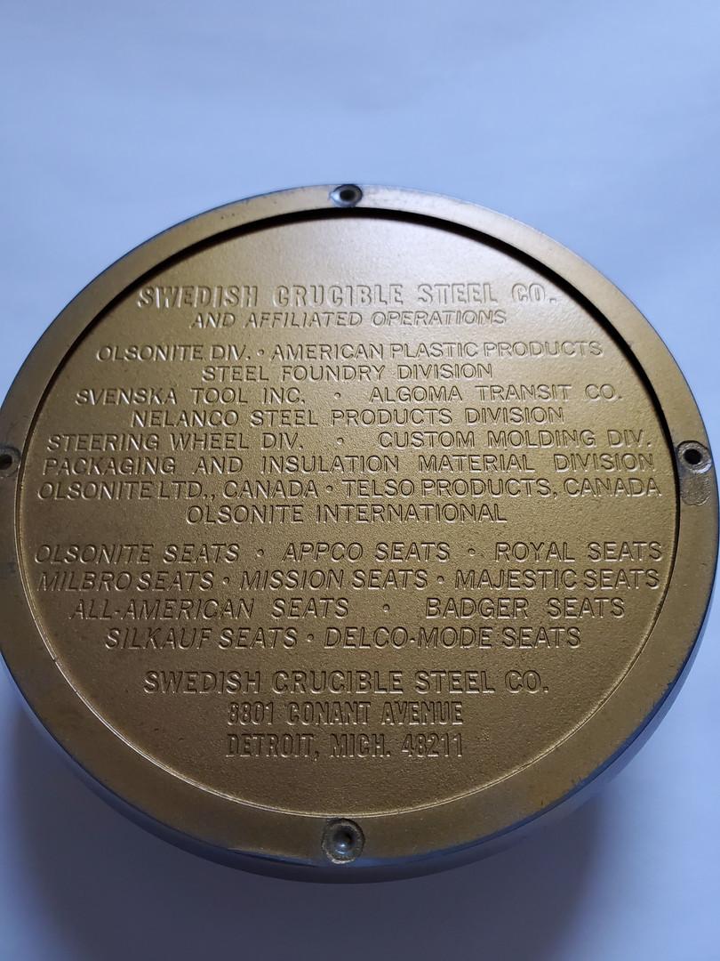 Swedish Crucible Steel - Paper Weight Bo