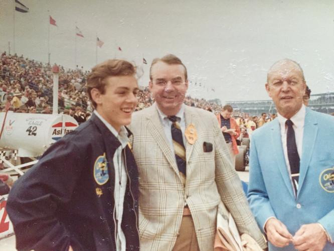 Chapman's Son, Jim Chapman, Ozzie Olson.