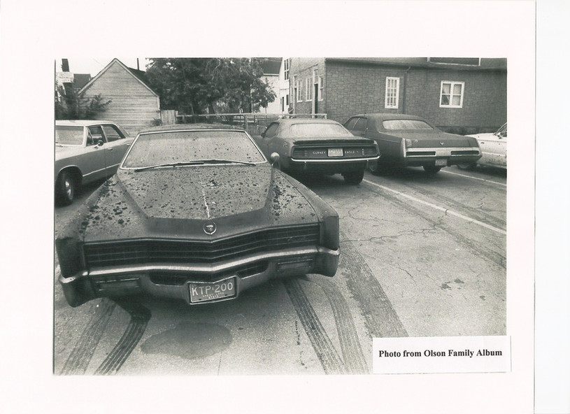 3 Vintage Photo Corporate Cars Rescued.J