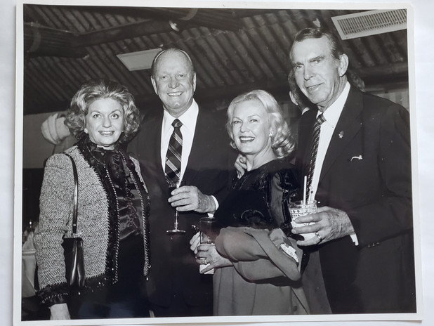 The Olson's with Fred and June McMurray.