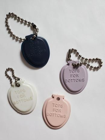 Olsonite - Tops for Bottoms Key Chains.j