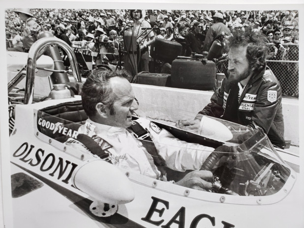 Wally Dallenbach and Chief Mechanic Dave
