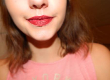 week of the lip: dark wine red winter lip look (Selena X Mac)