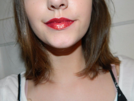 Week of the lip: Ultra Glossy New Years Lip Look