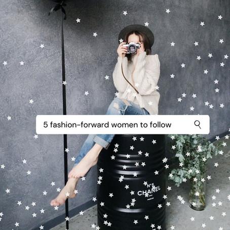 5 fashion-forward women to follow for style inspiration