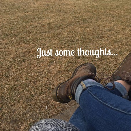 Thoughts from an anxious person trying to be less anxious