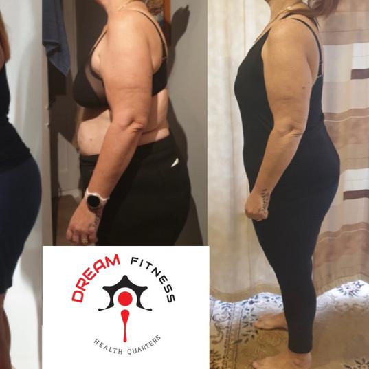 2020 & 2012 Get Active Challenges Lost 68lbs/30kg
