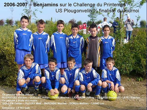 2006-2007 - Benjamins  (Challenge du Pri