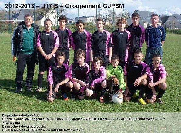 2012-2013 - U17 B Groupement GJPSM.jpg