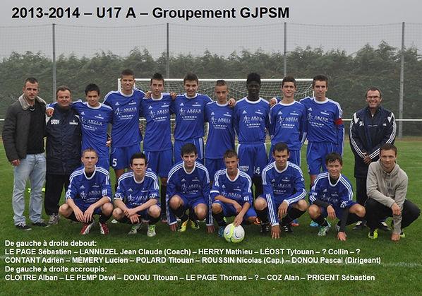 2013-2014 - U17 A GJPSM.jpg