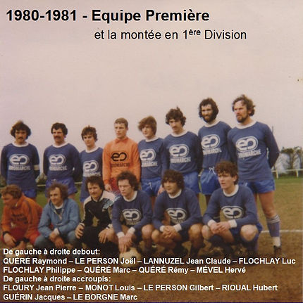 1980-1981 - Equipe Première et la montee